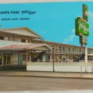 """Travelodge"" VINTAGE POSTCARD Grants Pass Oregon"