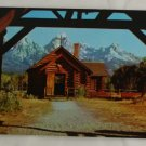 """Chapel Transfiguration"" VINTAGE POSTCARD Moose Wyoming"