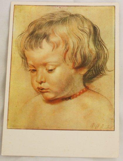 POSTCARD Germany-Albrecht Durer?-Child
