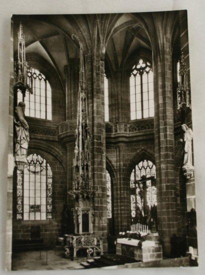 POSTCARD Germany-Bavaria-Nurnberg-St. Lorenz Church
