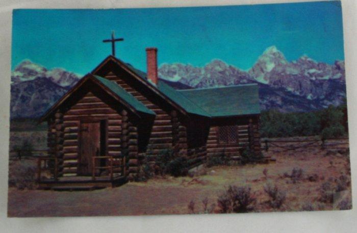 Color Postcard VINTAGE POSTCARD Grand Teton Nat'l Mont