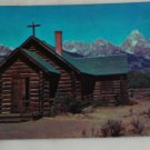 Color Postcard VINTAGE POSTCARD Grand Teton Nat'l Mont