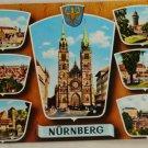 POSTCARD Germany-Bavaria-Nurnberg-Views