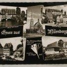 POSTCARD Germany-Bavaria-Nurnberg-Views B&W