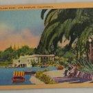 Linen Card-VINTAGE POSTCARD-Los Angeles,CA
