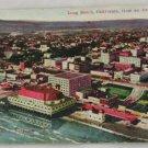 Hand Colored Postcard VINTAGE POSTCARD Long Beach 1916