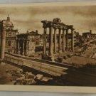 Sepia VINTAGE POSTCARD Italy-Rome-Roma-Roman Forum