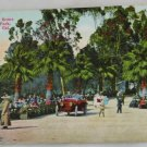 Hand Colored Postcard VINTAGE POSTCARD LA-Eastlake Park