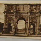 Sepia VINTAGE POSTCARD Italy-Rome-Roma-Arch Constantine