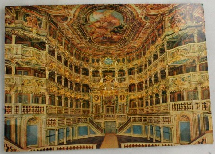 Color-VINTAGE POSTCARD-Bayreuth,Bavaria,Germany