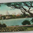 Hand Colored Postcard VINTAGE POSTCARD Oakland CA 1921