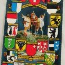 POSTCARD Switzerland-City Shields-1964-Zurich