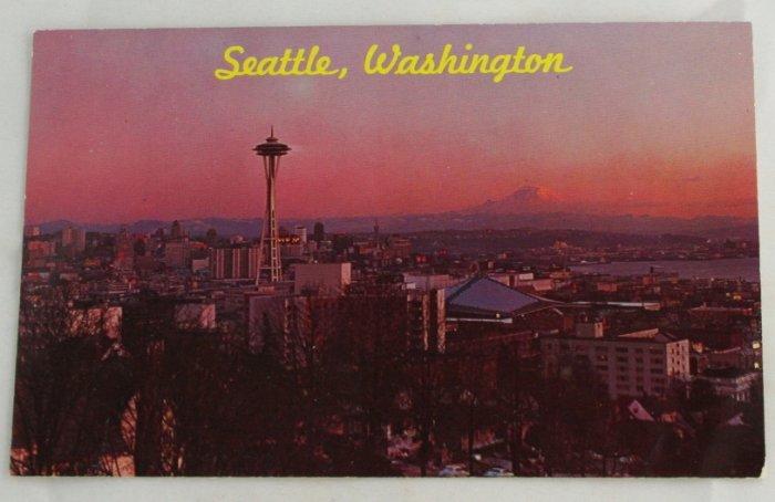 POSTCARD-WA State-Seattle-City View Panorama
