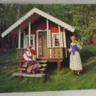 POSTCARD-Sweden-Female Dresses-Kyrkefalla,Varola