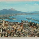 POSTCARD Italy-Napoli-View of Naples and Vesuvius