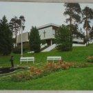 POSTCARD Finland-Riihimaki-Church,Pond