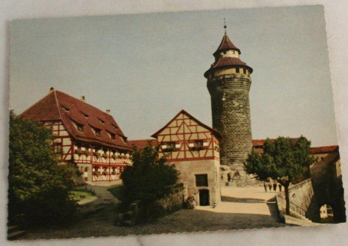 POSTCARD Germany-Bavaria-Nurnberg-Tower