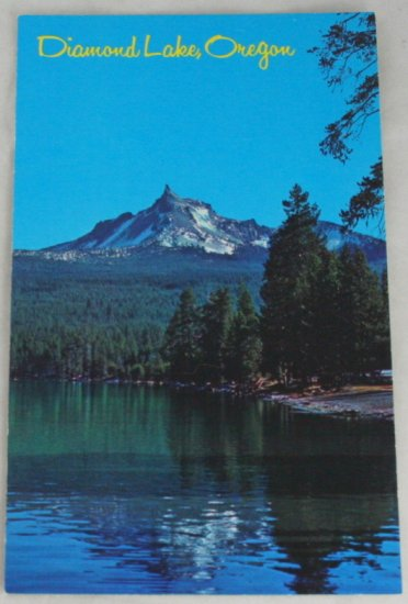 POSTCARD USA Oregon,Diamond Lake, Southern Oregon
