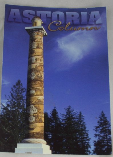 POSTCARD USA Oregon,Astoria,Astoria Column