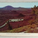 POSTCARD USA Idaho,Craters of the Moon National Monument