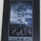 POSTCARD USA Washington, Mount St Helens, Eruption