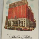 POSTCARD USA New York City,Statler Hilton Hotel