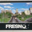 POSTCARD California,Fresno,1987,Cityscape