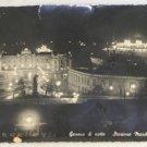 POSTCARD Switzerland,Geneva,Real Photo,Night,Station