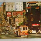 POSTCARD California,San Francisco, Cable Car CA Street