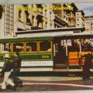 POSTCARD California,San Francisco, Cable Car Turntable
