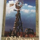 POSTCARD Oklahoma,Wooden Windmill, Chrome Modern Era