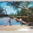 POSTCARD Wisconsin,Vacation Scene,Lake,1958