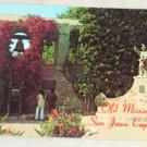 POSTCARD California,San Juan Capistrano Mission Courtyard
