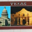 VINTAGE POSTCARD Texas,Austin,Capitol,The Alamo
