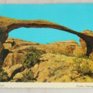 VINTAGE POSTCARD National Parks,Arches,Landscape Arch Chrome