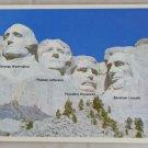 VINTAGE POSTCARD National Parks,Mt.Rushmore Monument Chrome