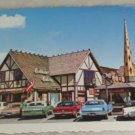 POSTCARD California,Solvang,Danish Architecture Deckle