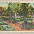 VINTAGE POSTCARD Oregon,Portland,Lambert Gardens 1936 Curteich
