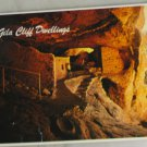 VINTAGE POSTCARD Gila Cliff Dwellings National Monument New Mexico