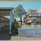 VINTAGE POSTCARD California,Redding,Motel Orleans