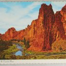 VINTAGE POSTCARD Oregon,Crooked River,Smith Rocks