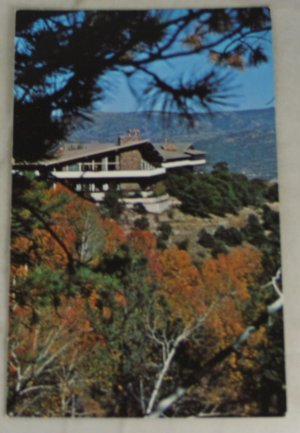 VINTAGE POSTCARD Colorado,Buena Vista,Trail West Lodge,Young Life