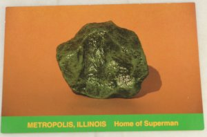 VINTAGE POSTCARD Illinois,Metropolis,Home of Superman