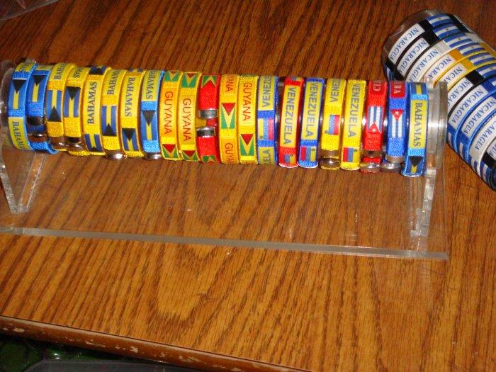 Various Countries Bangle Bracelets