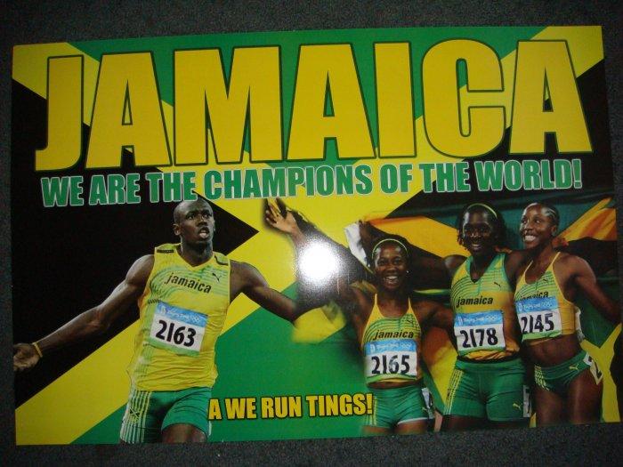Lightning Bolt Team Poster