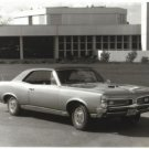 66 GTO Glossy Photo B&W 1966