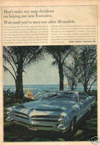 66 Pontiac Executive 1966 Magazine Ad