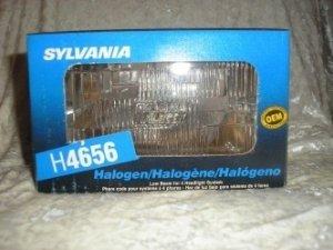 H 4656 Halogen Low Beam Replacement Headlight 4652 4663