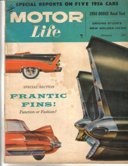 Motor Life January 1956