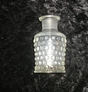 Imperial Glass Company Hobnail Perfume Cologne Crystal